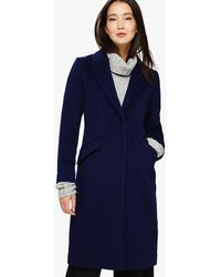 Phase Eight - Arlet Seamed Crombie Coat - Lyst