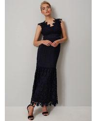 Phase Eight - Sauvan Lace Maxi Dress - Lyst
