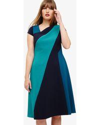 Phase Eight - Michelle Colour Block Dress - Lyst