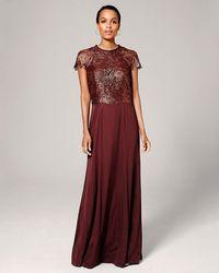 Phase Eight | Nala Lace Full Length Dress | Lyst