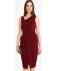 Phase Eight - Mara Pleat Front Dress - Lyst