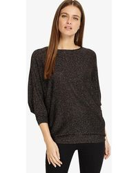 Phase Eight - Becca Multi-coloured Shimmer Batwing Jumper - Lyst