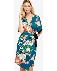 e8ff51d60 Ted Baker Tie The Knot Alimi Oriental Blossom Bow Neck Dress - Image ...