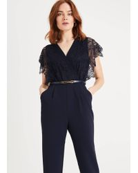 Phase Eight - Amira Lace Jumpsuit - Lyst