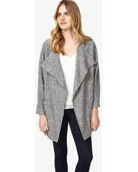 Phase Eight - Fausta Fleck Knitted Coat - Lyst