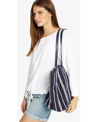 Phase Eight - Sadie Canvas Bag - Lyst