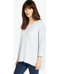 Phase Eight - Piera Ripple Stitch Knit Top - Lyst