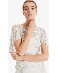 Phase Eight - Louise Beaded Bridal Dress - Lyst