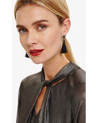 Phase Eight - Nikita Tassle Earrings - Lyst