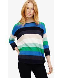 Phase Eight | Megan Bold Stripe Knit Jumper | Lyst