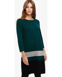 Phase Eight - Celina Block Knit Tunic Dress - Lyst