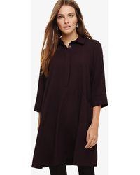 9169adda876db Lyst - Phase Eight Spot Bella Dress in Black