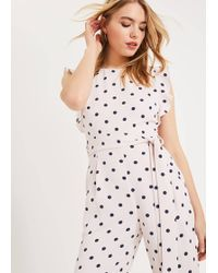 Phase Eight - Verena Spot Jumpsuit - Lyst
