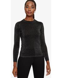 Phase Eight - Taliana Shimmer Knitted Top - Lyst