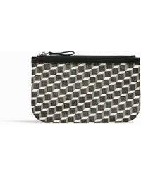 Pierre Hardy - Cube Perspective Pouch - Lyst