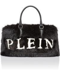 "Philipp Plein - Medium Travel Bag ""soft Plein Medium Bag"" - Lyst"