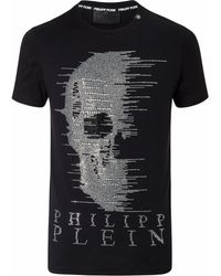 87a4a42f Lyst - Philipp Plein T-shirt Round Neck Ss