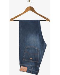 Armani Jeans - Mid Washed Jeans Blue - Lyst