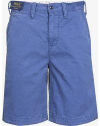 Ralph Lauren - Classic Relaxed Fit Cargo Short Blue - Lyst