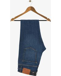 BOSS - 'delaware3' Slim Fit Jeans Medium Blue - Lyst