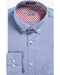 Paul & Shark - 'yachting Collection' Luxury Oxford Shirt Blue - Lyst