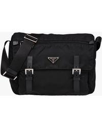 Prada - Fabric Crossbody Bag - Lyst