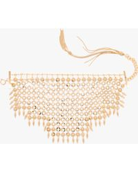 Prada - All Designer Products - Metal Necklace - Lyst