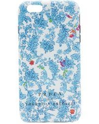 Preen By Thornton Bregazzi - Iphone Case Blue Brocade - Lyst