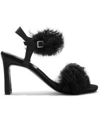 Preen By Thornton Bregazzi - Pf18 High Heel Sandal Black - Lyst