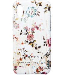 Preen By Thornton Bregazzi - Iphone Case Nude Plastic Flower - Lyst