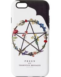 Preen By Thornton Bregazzi | Iphone Case Witch Ring | Lyst