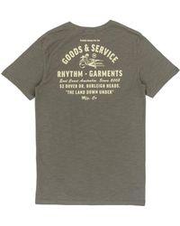Rhythm - Down Under T-shirt - Lyst