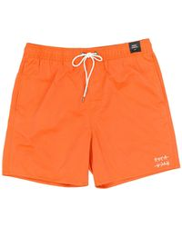 RVCA - Horton Elastic Shorts - Lyst