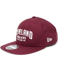 f110df46ffb KTZ Cleveland Cavaliers 2 Tone Snapback in Red for Men - Lyst