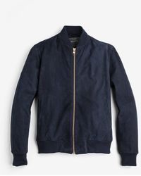 Private White V.c. - The Deluxe Suede Bomber - Lyst
