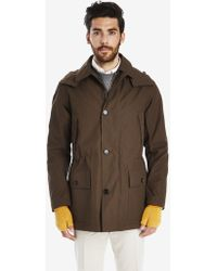 Private White V.c. - Park Cotton Ventile® Raincoat With Hood - Lyst