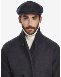 Private White V.c. - Woollen Tremelo Flat Cap - Lyst