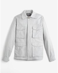 Private White V.c. - Desert Tropical Weave Jacket - Lyst