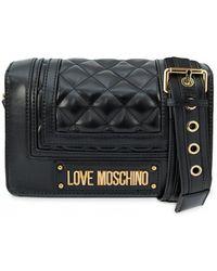 Moschino - Logo Crossbody Camera Bag - Lyst