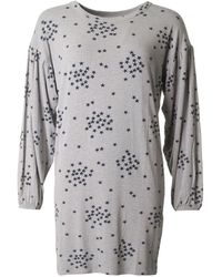 A Postcard From Brighton - Gathered Sleeve T-shirt Dress - Lyst
