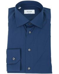 Eton of Sweden - Contempory Fit Cotton Shirt - Lyst
