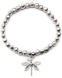 Olia Jewellery - Liberty Dragonfly Bracelet - Lyst