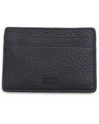 BOSS Black - Traveller Leather Card Holder - Lyst