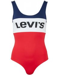 Levi's - Colourblock Bodysuit - Lyst
