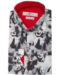 Claudio Lugli | Marilyn Monroe Print Shirt | Lyst