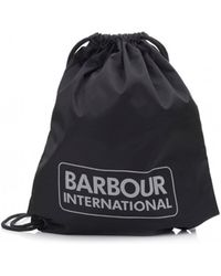 Barbour - International Race Gymsack - Lyst