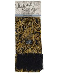 Tootal | Large Paisley Silk Scarf | Lyst