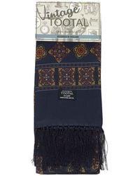 Tootal - Mosaic Print Silk Scarf - Lyst