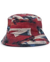 Pretty Green - Reversible Union Jack Print Bucket Hat - Lyst