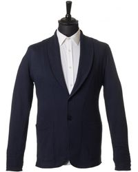 Uniforms for the Dedicated | Wes Shawl Jersey Blazer | Lyst